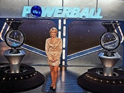 Australia Powerball lotto draw studio