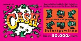 Austrian Lottery Scratch Card called CASH.