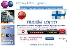 Get all detailed information about Finland Lotto at our dedicated page at http://www.lotto-game.com/finland-lotto.html
