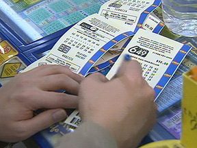 Canada Lotto 6/49 lottery tickets