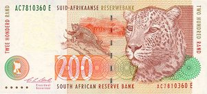 South Africa Lotto can be played using this beautifully designed banknote.