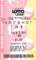 Florida Lotto ticket.