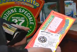 SiVinceTutto player got his lottery ticket at lotto tickets sales point