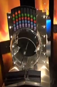 Sweden Lotto drawing machine