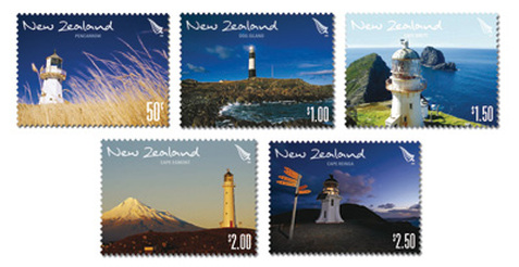 New Zealand Lighthouses 2009 stamps