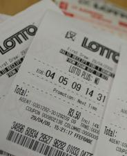 South Africa Lotto ticket