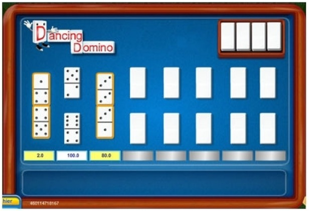 Dancing Domino Scratch Card Game