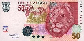 South Africa Lotto tickets can be bought  by this beautifull R50,- banknote.