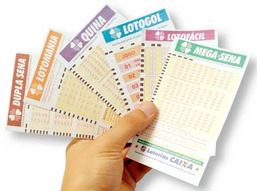Lotto and lottery playslips in Brazil, including Brazil Mega-Sena Lotto game.