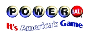 Powerball lottery game logo